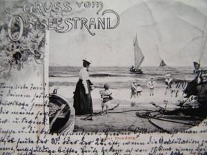 Ahlbeck historische Postkarte 1901