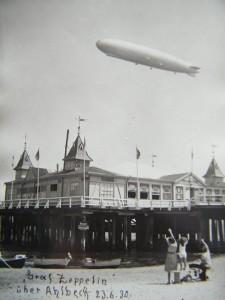 Ahlbeck historische Postkarte 1930