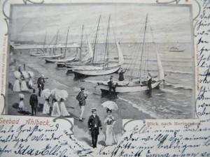 Ahlbeck historische Postkarte