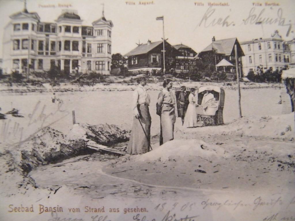 Alte Postkarte Bansin 1905
