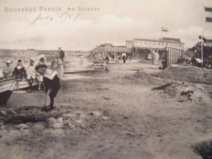 Alte Postkarte Bansin Juli 1908