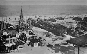Alte Postkarte Heringsdorf 1957